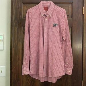 Alabama Crimson Tide Casual Dress Shirt Size L
